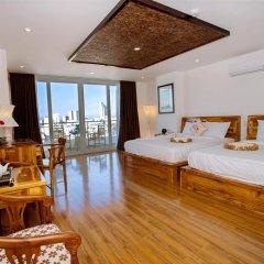 Rex Hotel and Apartment 3* Семейный номер Делюкс с двуспальной кроватью фото 7