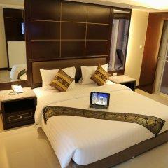 Отель Achada Beach Pattaya 3* Улучшенный номер с различными типами кроватей фото 3