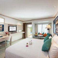 Отель Novotel Phuket Resort 4* Номер Делюкс с двуспальной кроватью фото 2