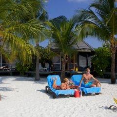 Отель Kuredu Island Resort 4* Вилла с различными типами кроватей фото 12