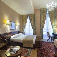 Отель Hôtel du Palais Bourbon Франция, Париж - отзывы, цены и фото номеров - забронировать отель Hôtel du Palais Bourbon онлайн комната для гостей фото 9