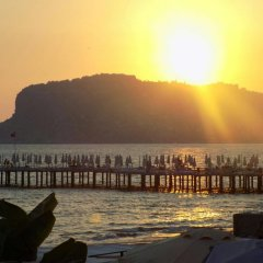Semt Luna Beach Hotel - All Inclusive пляж фото 2