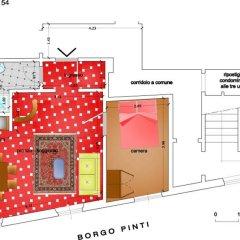 Отель Borgo Pinti Angels Апартаменты с различными типами кроватей фото 3