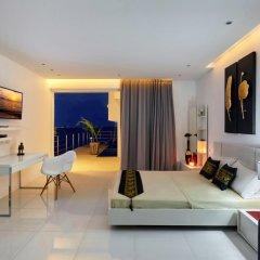 Отель Villa Blanche Таиланд, Самуи - отзывы, цены и фото номеров - забронировать отель Villa Blanche онлайн комната для гостей фото 5