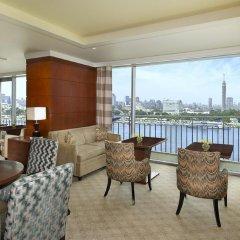 Отель The Nile Ritz-Carlton, Cairo 5* Номер Делюкс с различными типами кроватей фото 4