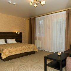 Гостиница Авеню Полулюкс с двуспальной кроватью фото 7