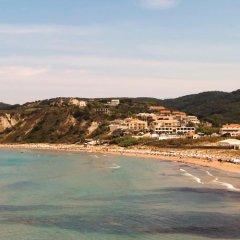 Отель Terezas Hotel Греция, Корфу - отзывы, цены и фото номеров - забронировать отель Terezas Hotel онлайн пляж фото 2