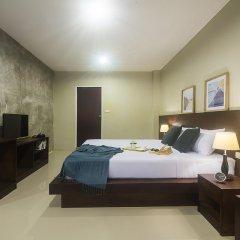 Green Leaf Hostel Номер Делюкс с двуспальной кроватью фото 3