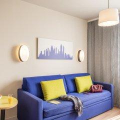 Отель Aparthotel Adagio access Paris Massy Gare TGV 3* Студия с различными типами кроватей