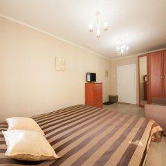 Мини-Отель КвартировЪ-Взлетка Стандартный номер с двуспальной кроватью (общая ванная комната) фото 9