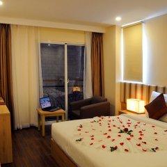 Begonia Nha Trang Hotel 3* Номер Делюкс с различными типами кроватей фото 29