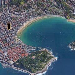 Отель Concha Beach Boutiques - SSHousing Испания, Сан-Себастьян - отзывы, цены и фото номеров - забронировать отель Concha Beach Boutiques - SSHousing онлайн пляж фото 2