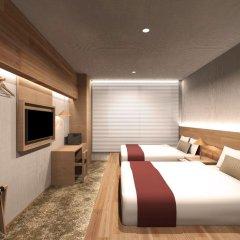 hotel androoms Osaka Hommachi 3* Улучшенный номер с различными типами кроватей фото 2