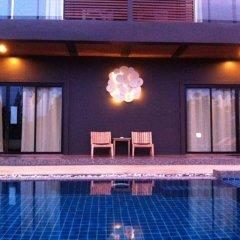 Отель Villa Gris Pranburi Таиланд, Пак-Нам-Пран - отзывы, цены и фото номеров - забронировать отель Villa Gris Pranburi онлайн бассейн фото 3