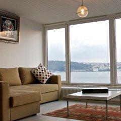 Апартаменты Tarus Bosphorus Apartments Besiktas комната для гостей фото 2