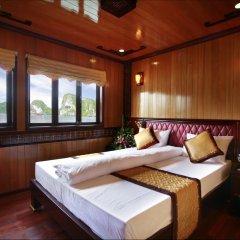 Отель Halong Golden Lotus Cruise 3* Номер Делюкс с различными типами кроватей фото 2