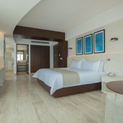 Отель Reflect Krystal Grand Cancun Улучшенный номер с различными типами кроватей фото 13
