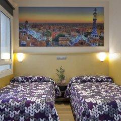 Отель Hostal Barcelona Стандартный номер с различными типами кроватей фото 7