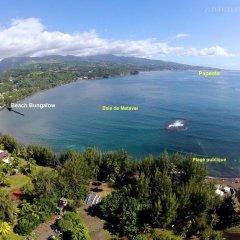Отель Guest Beach Bungalow Tahiti Французская Полинезия, Махина - отзывы, цены и фото номеров - забронировать отель Guest Beach Bungalow Tahiti онлайн приотельная территория