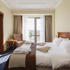 Гостиница Звёздный WELNESS & SPA Семейный люкс с двуспальной кроватью фото 13