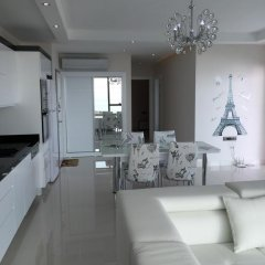 Отель Luxury Apt in Konak Sea Side with a Sea front view and a private beach