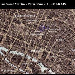 Отель Le Marais Pompidou Center Old Heart Paris Париж приотельная территория фото 2