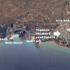 Отель Tsokkos Holiday Hotel Apartments Кипр, Айя-Напа - 1 отзыв об отеле, цены и фото номеров - забронировать отель Tsokkos Holiday Hotel Apartments онлайн городской автобус
