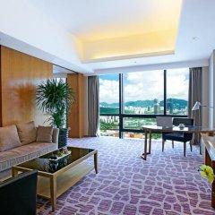 Huaqiang Plaza Hotel Shenzhen 4* Представительский люкс с различными типами кроватей фото 5