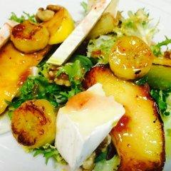 Отель 5 Soles Hostal Rural Gastronomico питание