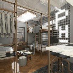 Отель The Printing House Poshtel 2* Кровать в общем номере с двухъярусной кроватью фото 4