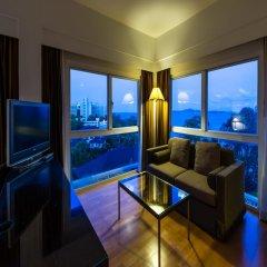 Апартаменты RCG Suites Pattaya Serviced Apartment Студия с различными типами кроватей фото 5