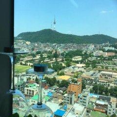 Отель Cozy House Сеул балкон