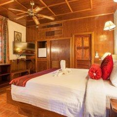 Отель Tropica Bungalow Resort 3* Улучшенное бунгало с различными типами кроватей фото 11