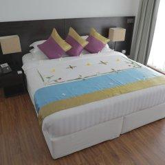 Отель Plumeria Maldives 4* Номер Делюкс с различными типами кроватей фото 3