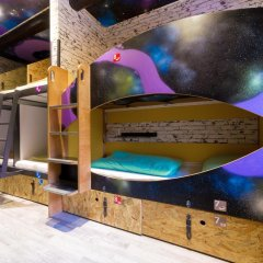 Chillout Hostel Zagreb Кровать в общем номере с двухъярусной кроватью фото 39