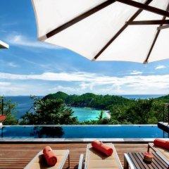 Отель Villas Del Sol Koh Tao Таиланд, Шарк-Бей - отзывы, цены и фото номеров - забронировать отель Villas Del Sol Koh Tao онлайн бассейн
