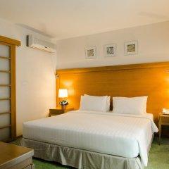 Отель At Ease Saladaeng 4* Номер Делюкс с различными типами кроватей фото 8