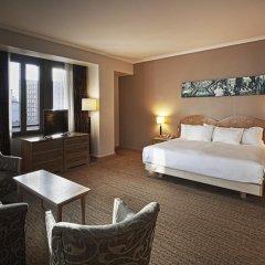 Отель Hilton Milan 4* Представительский номер с различными типами кроватей фото 3