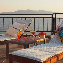 Отель Summer Dream Penthouse Албания, Саранда - отзывы, цены и фото номеров - забронировать отель Summer Dream Penthouse онлайн бассейн