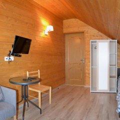 Гостиница Вилла Речка комната для гостей фото 5