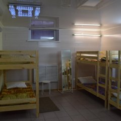 Хостел Маня Кровать в общем номере с двухъярусной кроватью фото 16