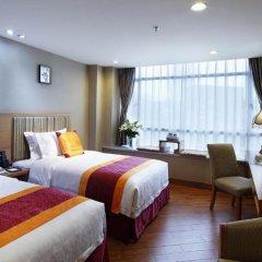 Guangzhou The Royal Garden Hotel 3* Улучшенный номер с различными типами кроватей фото 4