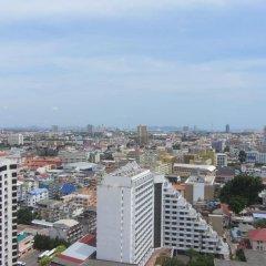 Отель Centric Sea Pattaya Апартаменты с различными типами кроватей фото 37