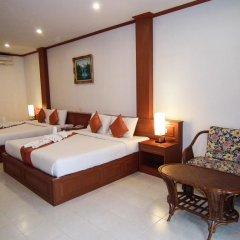 Отель Andaman Seaside Resort 3* Семейный номер Делюкс с двуспальной кроватью фото 2