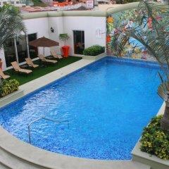 Отель Tegucigalpa Marriott Hotel Гондурас, Тегусигальпа - отзывы, цены и фото номеров - забронировать отель Tegucigalpa Marriott Hotel онлайн бассейн фото 3