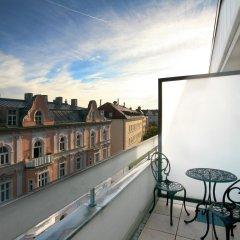 Отель Parkhotel im Lehel Германия, Мюнхен - 1 отзыв об отеле, цены и фото номеров - забронировать отель Parkhotel im Lehel онлайн балкон