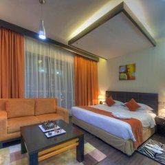 Marina View Deluxe Hotel Apartment 5* Студия с различными типами кроватей