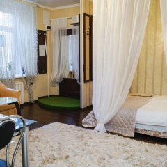 Апартаменты Акрополь на Суворова 8 Апартаменты разные типы кроватей фото 2