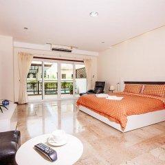 Апартаменты Pratumnak Hill Apartment 2 Bedroom Паттайя комната для гостей фото 3