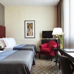Отель Crowne Plaza Paris Republique 4* Стандартный номер с различными типами кроватей фото 3